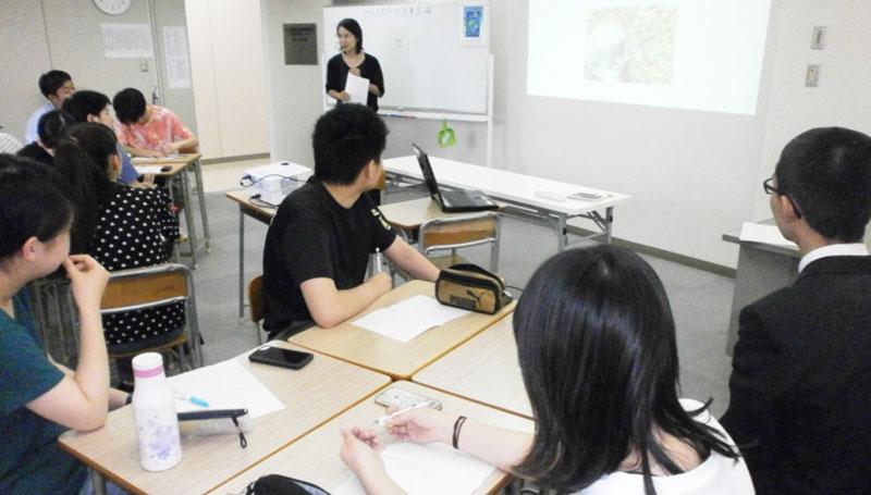 幸せな未来は自分で創る!~つくば開成高校上田学習センターにて~